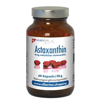 Astaxanthin 8mg - 60 Kapseln, Alge Haematococcus pluvialis